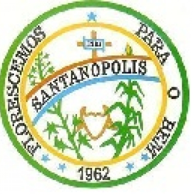 Brasão da cidade de Santanópolis