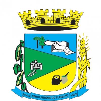 Brasão da cidade de Santo Antônio Do Planalto