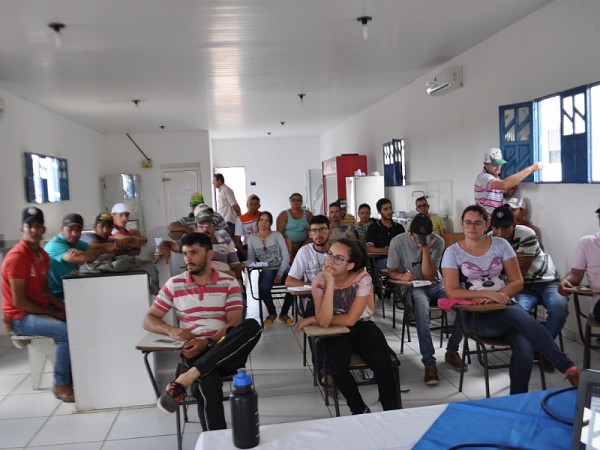 Curso de Caprinocultura em Gurjão PB. Foto: ASCOM