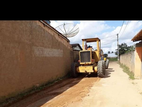 Pavimentação. Foto: ASCOM