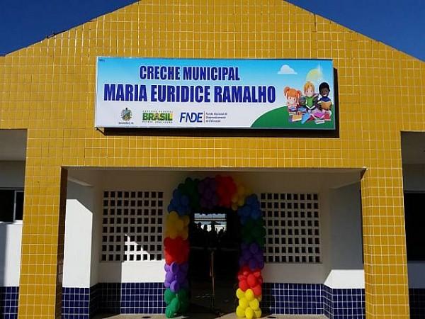 Creche Municipal em Bananeiras teve investimento de mais de 1,5 milhões de Reais . Foto: Raissa Fernandes