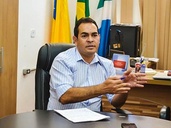 José Fernando Barbosa, Prefeito de Selvíria(MS). Foto: Assecom/Selvíria