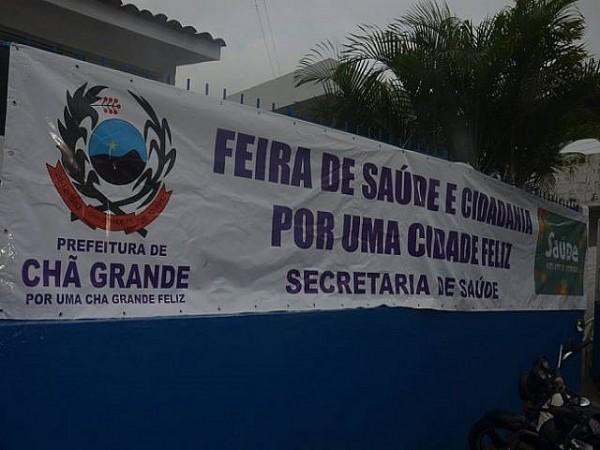 ASCOM CHÃ GRANDE. Foto: Ascom