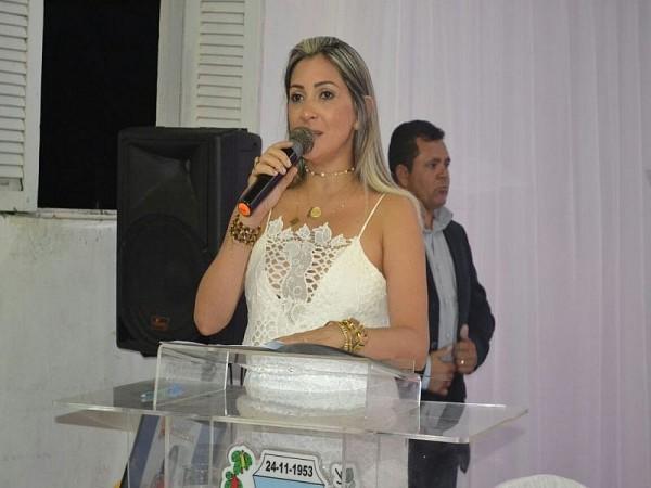 POSSE DA PREFEITA SOCORRO ANJOS EM SERRA CAIADA RN. Foto: Assessoria de Imprensa Prefeitur