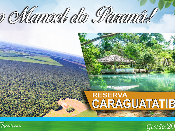 Reserva Caraguatatiba. Foto: Prefeitura Municipal
