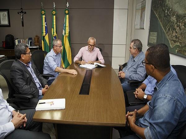 Edvaldo: É um marco no desenvolvimento de Aracaju . Foto: (fotos: Marco Vieira/PMA)